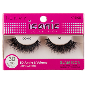 I-Envy Iconic Collection 3D Eyelash - Glam Icon KPEI05