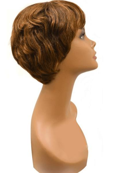 Vivica A. Fox Pure Stretch Cap Human Hair Wig - June - Beauty EmpireVivica A Fox - 3