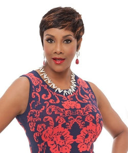 Vivica A. Fox Human Hair Wig - Carita - Beauty EmpireVivica A Fox - 1