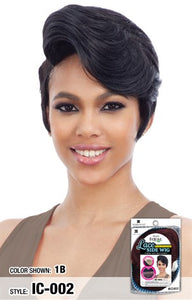 Freetress Equal Lace Side Human Hair Blend Wig - IC 002