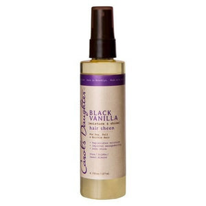 Black Vanilla Moisture & Shine Hair Sheen (4.3 oz) - Beauty Empire