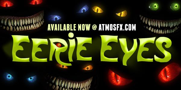 You Can't Look Away! Eerie Eyes is Here! | AtmosFX