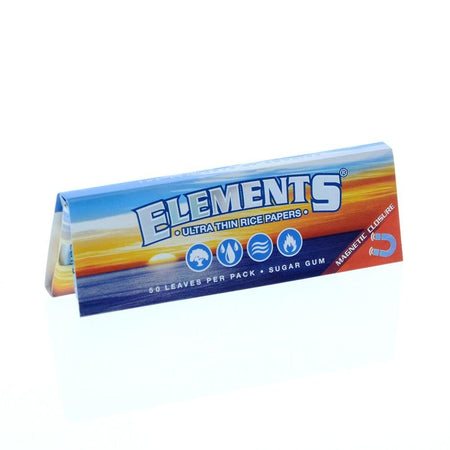 Elements - 1.25 Ultra Thin Magnetic Papers - Smoke City