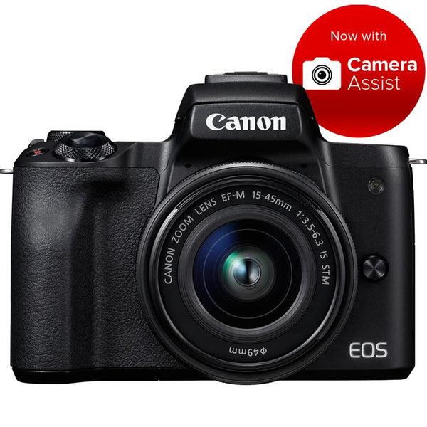 Canon EOS M50 Mirrorless Camera with 15-45mm STM Lens [4K Video]
