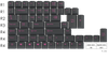 GMK - Magenta Dolch Accent -  - GROUP BUY - Originative