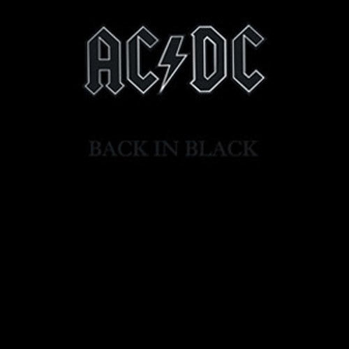 AC/DC Back In Black compact disc