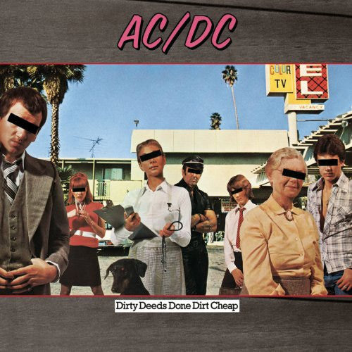 AC/DC Dirty Deeds Done Dirt Cheap compact disc