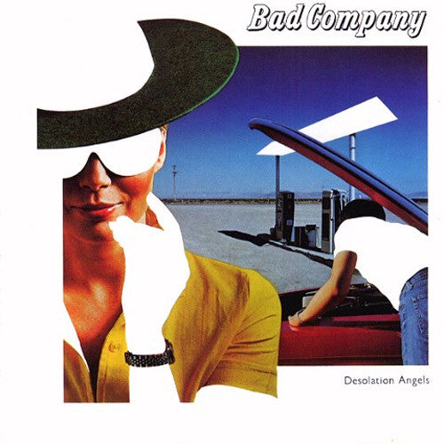 Bad Company Desolation Angels - vinyl LP