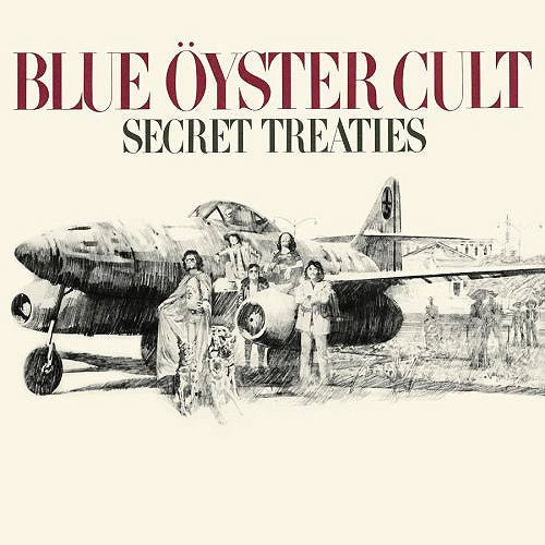Blue Oyster Cult Secret Treaties - vinyl LP