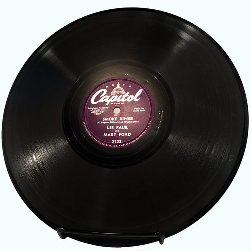 Les Paul & Mary Ford Smoke Rings / In The Good Old Summertime - 78 rpm