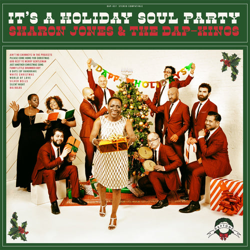 Sharon Jones & The Dap-Kings It's A Holiday Soul Party - vinyl LP