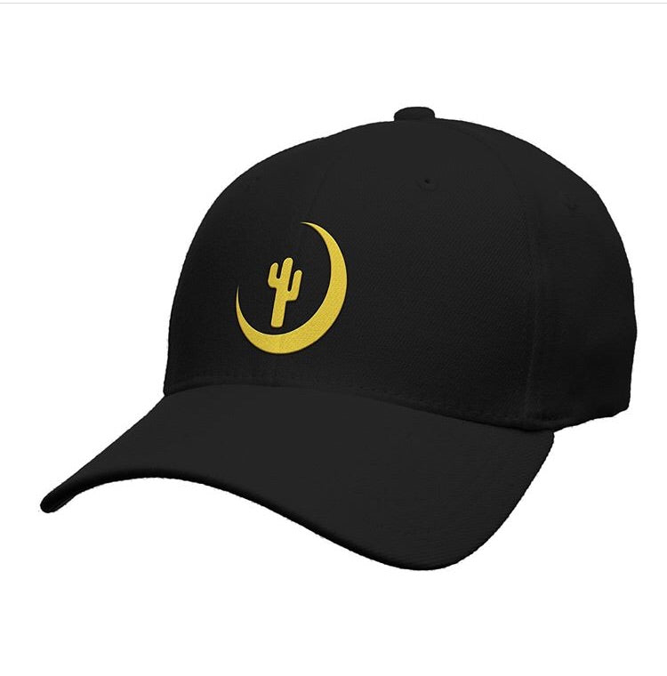 Bella Luna Dad Hat (Black/Gold)