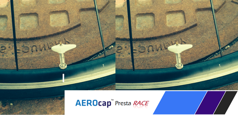 AEROcap Presta Race, Includes 2 caps, **$14.95**