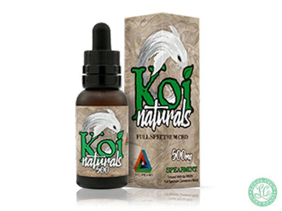 Koi KOI NATURALS - Spearmint - 30ml - Local Vape - Online Vape Shop