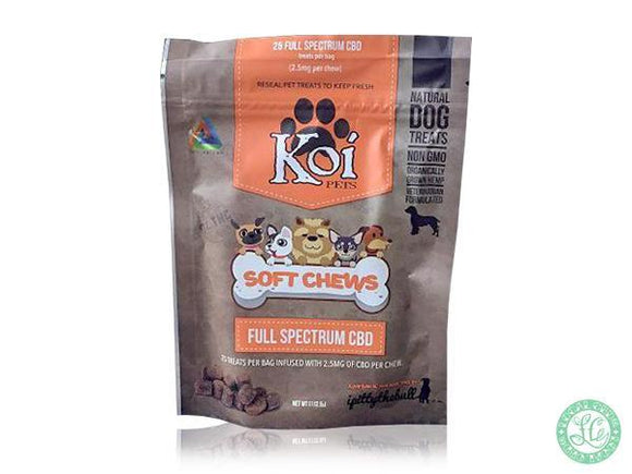 Koi KOI Soft Chews CBD Dog Treats - Local Vape - Online Vape Shop