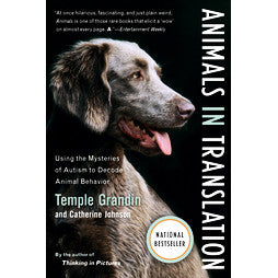 Animals in Translation, signed