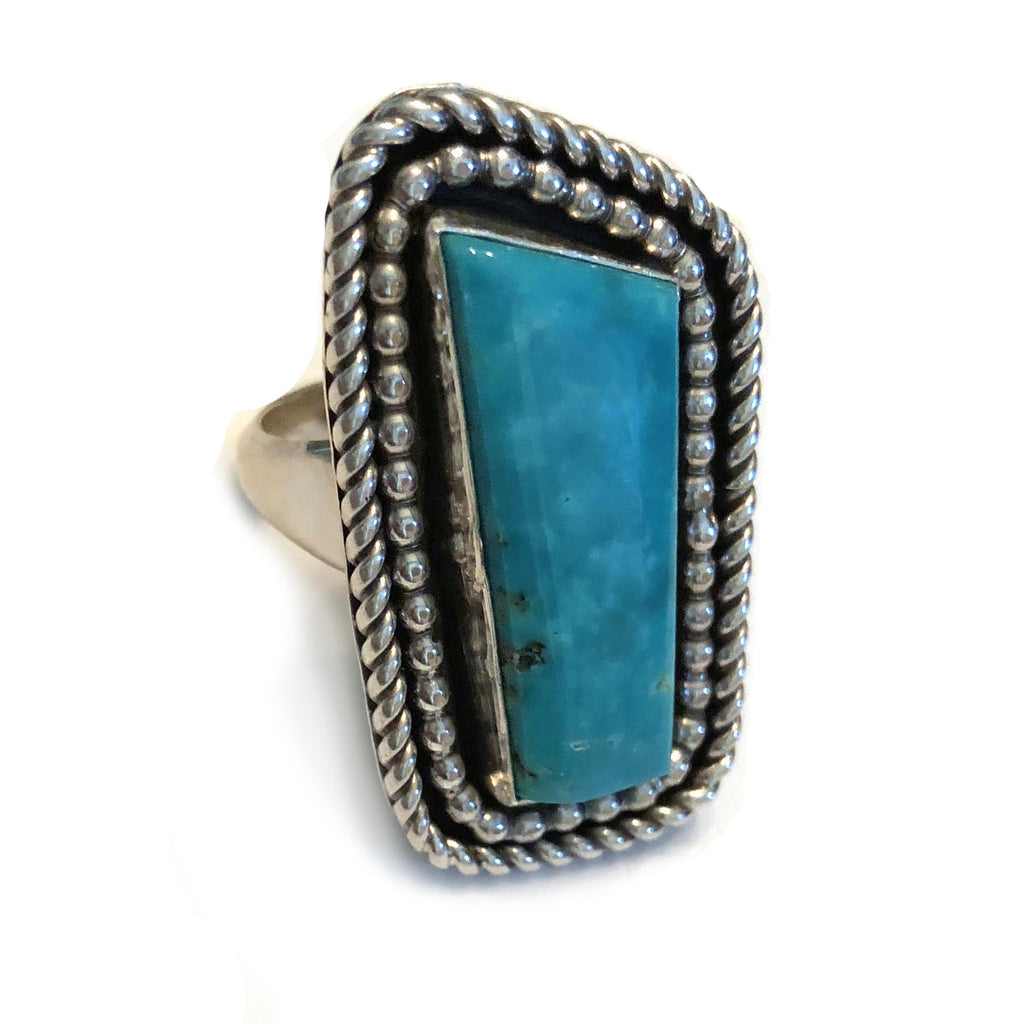 Blue Gem Turquoise Ring