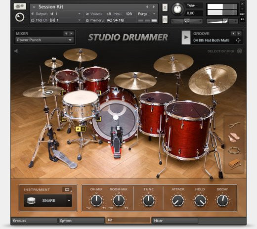 MIDI Loops for Abbey Road and Studio Drummer