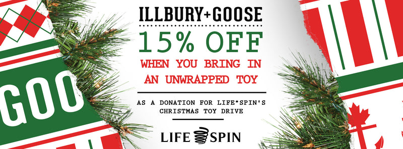 Christmas Toy Drive for LIFE*SPIN