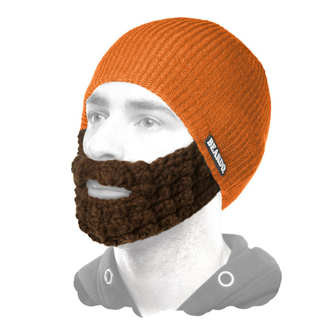 Beardo Orange (Attached Brown)