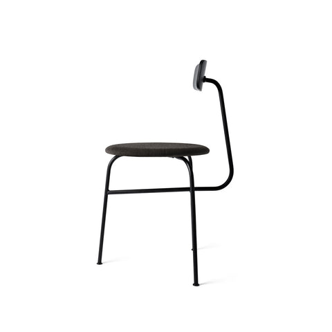 MENU Afteroom Chair Stol Stoppad Padded Black Blue Svart Blå
