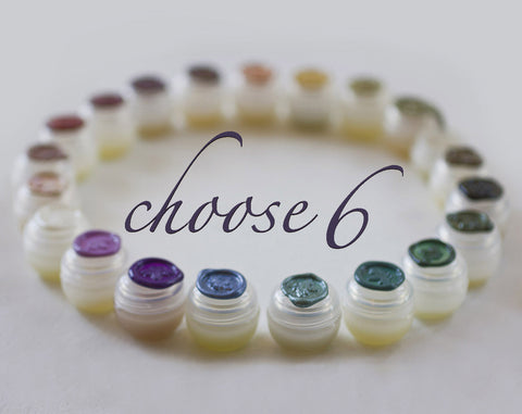Solid Perfume Sample Set of Six