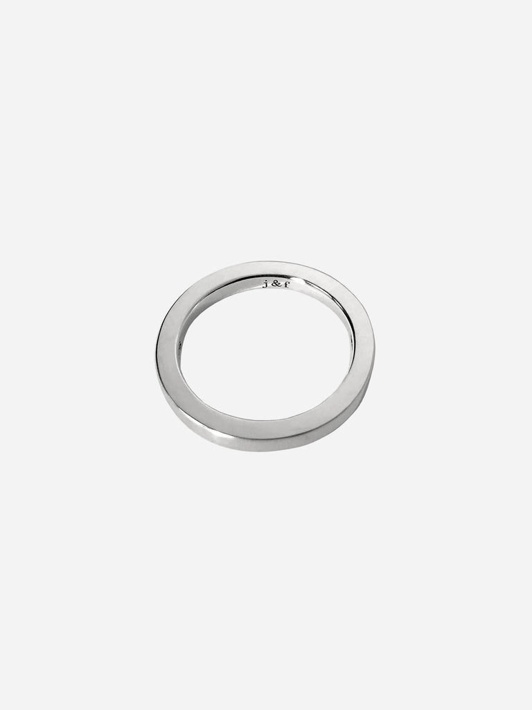 j&f Engraved Ring