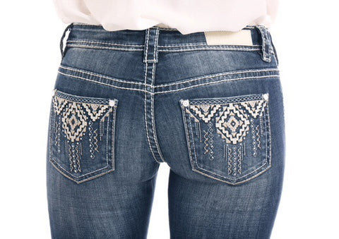 Cowgirl Tuff Jeans - DFMI Ripped