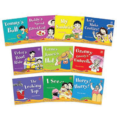 Red Train Readers (Set of 10 books)