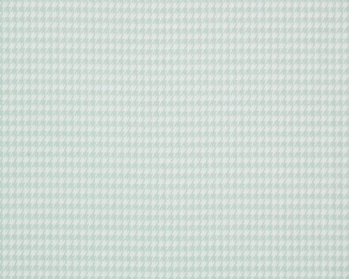 Pale Blue Houndstooth Fabric by the Yard