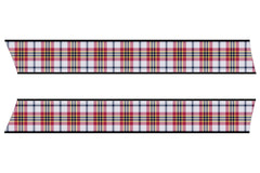 Mini Cooper (2007-2013) R56 Hood Stripe Decals - Exact Fit - Tartan