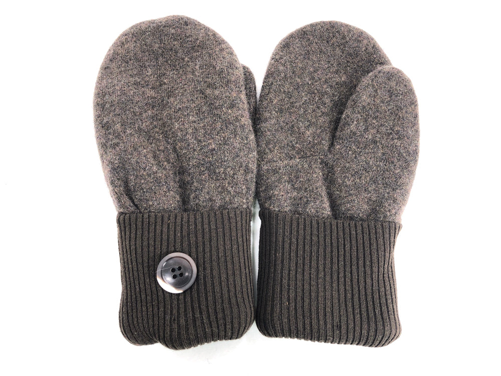 Brown Cashmere Wool Mittens - Medium - 1699-Womens-The Mitten Company