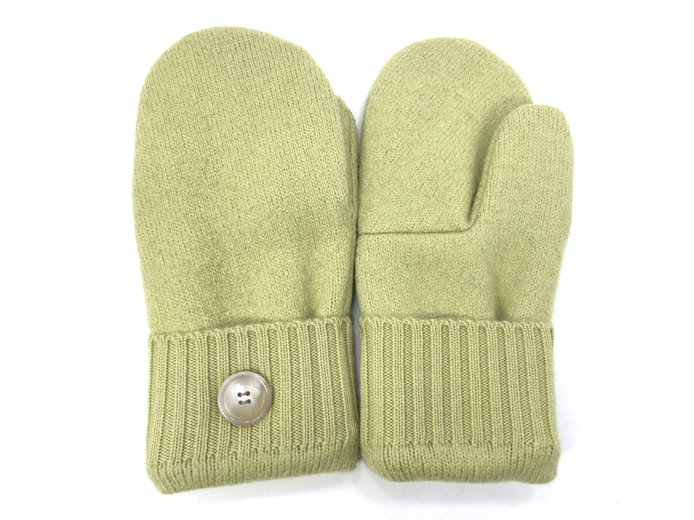 Green Lambs Wool Women's Mittens - Medium - 2083-Womens-The Mitten Company
