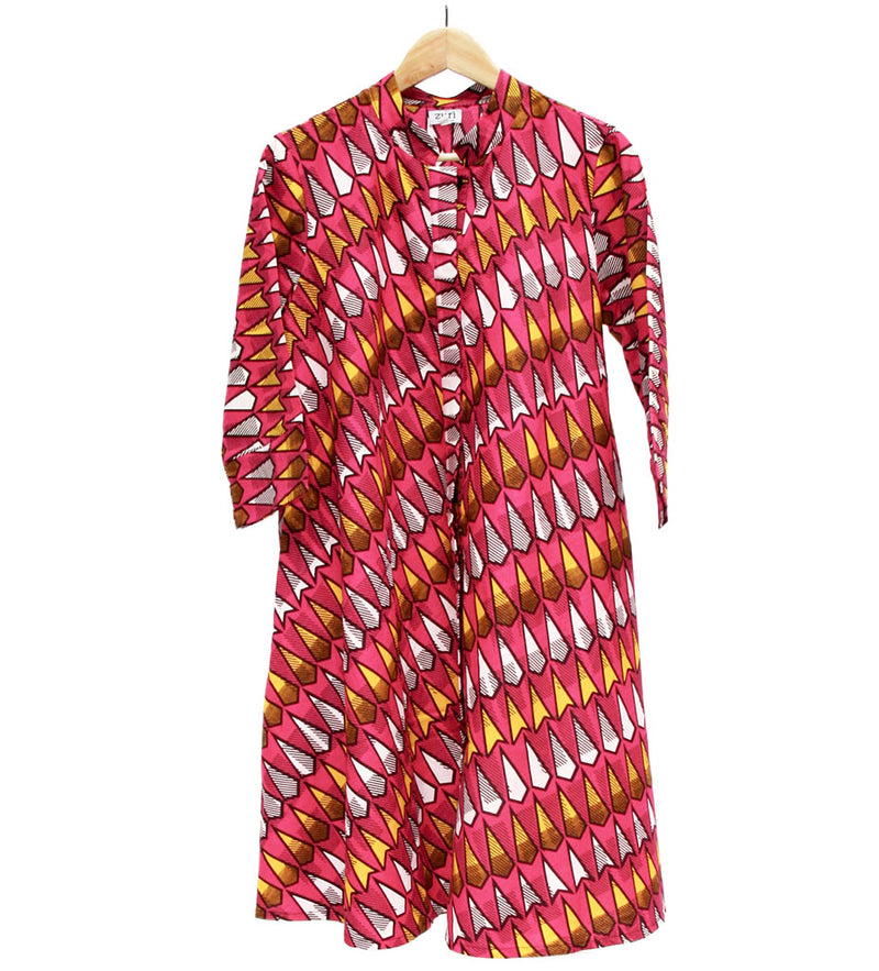 Zuri Swing Dress: Disco