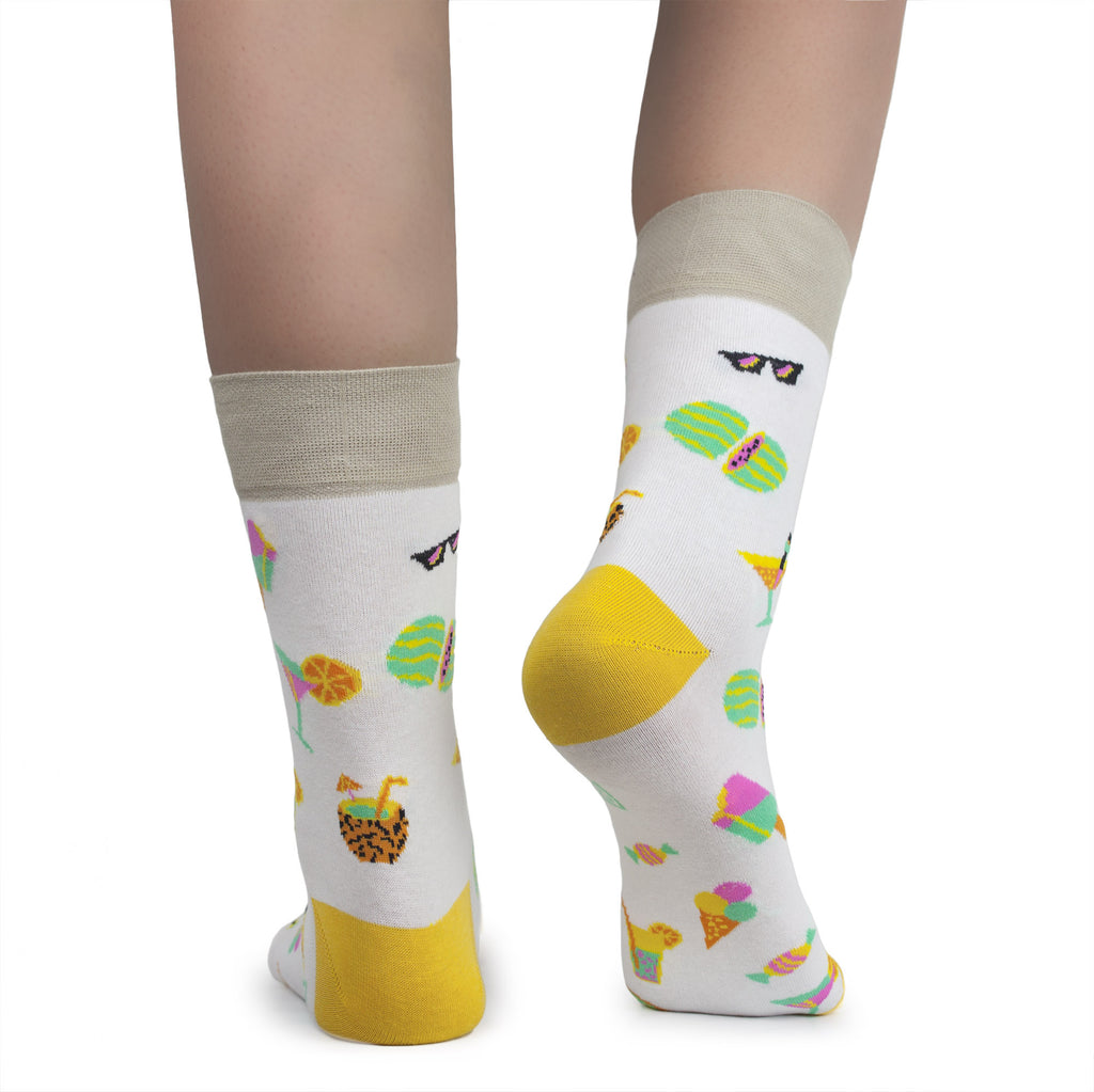 Fruit dress socks