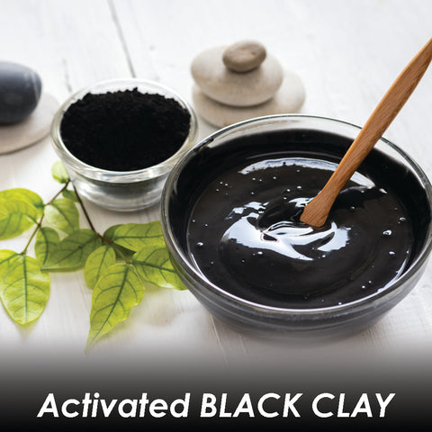 Black Magic Charcoal & Black Clay Detox Hair Mask