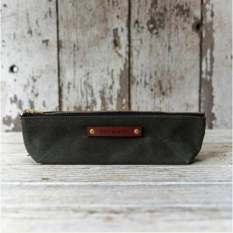 Waxed Canvas Drafter Pouch