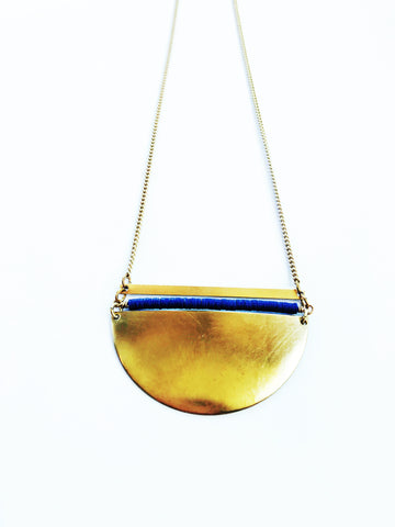 Coastal Waters Necklace - Blue