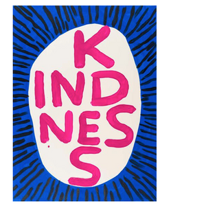 David Shrigley KINDNESS Tea Towel