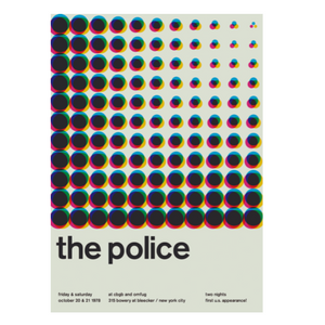 The Police Print