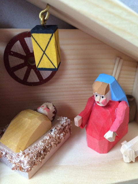 Bettina Franke Nativity. Handcrafted German Krippe, Creches and Smokers
