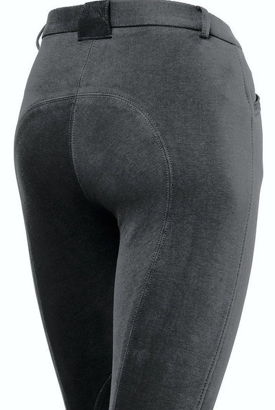 Pantalon Equitacion Mountain Horse Allison Breeches FS JR Negro
