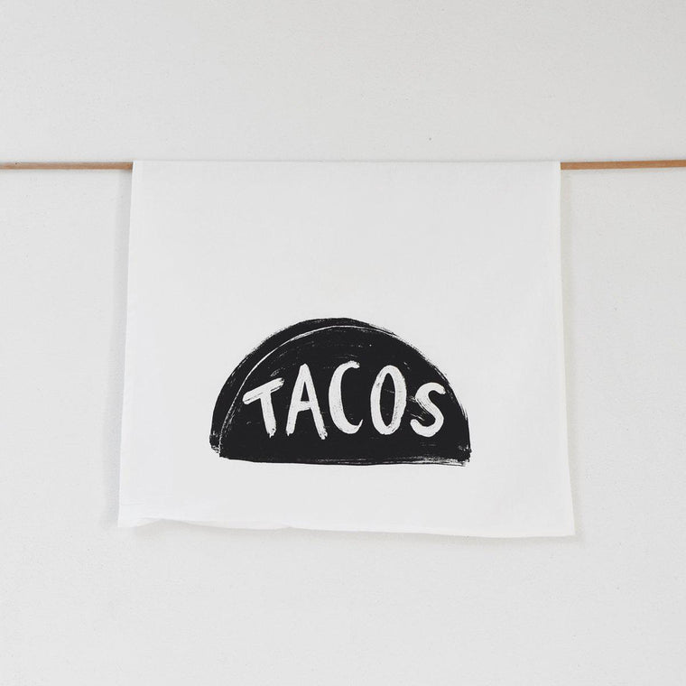 Taco Tuesday Tea Towel by Xenotees