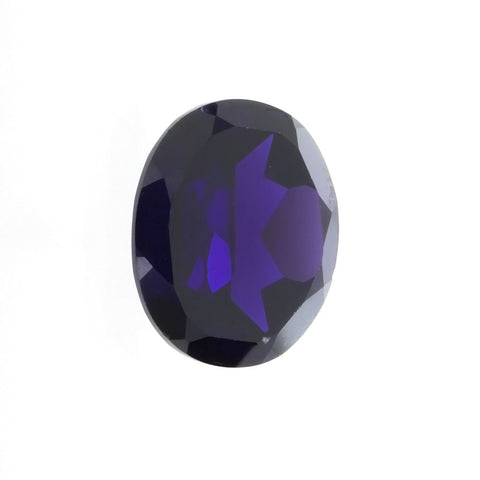CUBIC ZIRCONIA ALEXANDRITE OVAL GIANT FACETED GEMS