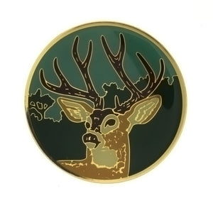 ENAMEL ANIMAL DEER INSERT