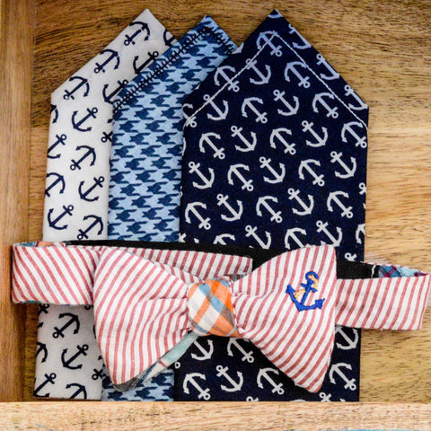 Reversible Anchor Bow Tie