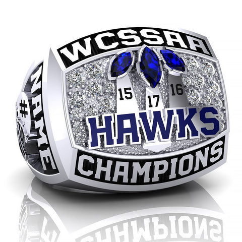 Jacob Hespeler Hawks Ring - Design 4