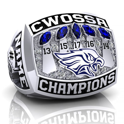 Jacob Hespeler Hawks Ring - Design 6