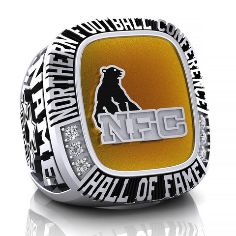 NFC Hall of Fame GTA All Stars Ring (Enamel)