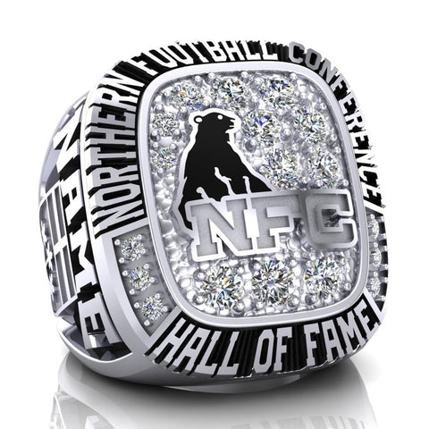 NFC Hall of Fame Defunct Team Ring (Champs Ice)